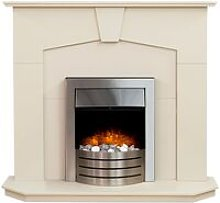 Abbey Fireplace in Stone Effect with Comet