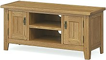 Abbey Oak TV Unit 120cm/ Television Stand/Modern