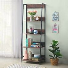 Abbey Rustic Industrial Filling Cabinet Bookcas 4