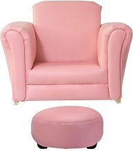 Abbie Children's Chair and Ottoman Isabelle &