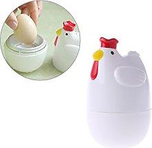 Abcidubxc Chicken Shaped Microwave Egg Boiler Mini