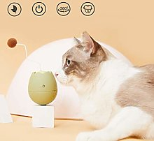 Abcidubxc interactive cat toy, egg cup electric