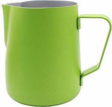 Abcsea 1 Piece Stainless Steel Milk foaming jug,