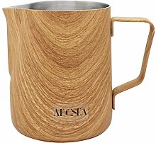 Abcsea 1 Piece Stainless Steel Milk Frothing