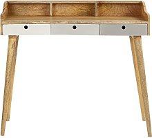 Abernathy Writing Solid Wood Desk Fjørde & Co