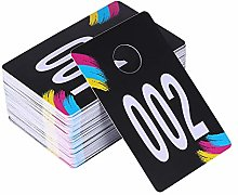 ABLET Live Sale Plastic Number Tags, Normal and