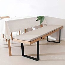 ABMOS Rectangle Bench Pad, Outdoor Indoor Sofa