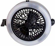 ABOOFAN LED Camping Fan, Portable Rechargeable