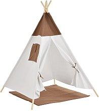 Abram Play Tent Freeport Park Colour: Brown