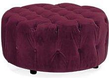 Abrams Footstool Rosdorf Park Upholstery Colour: