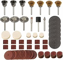 Abrasive Tools 161pcs Rotary Tool Accessory Bit