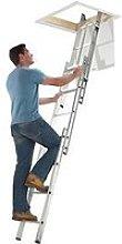 Abru Section Aluminum Loft Ladder