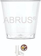 ABRUS- Plastic Shot Glasses 40ml, Pack of 60, 4CL,