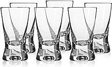 ABRUS - Shot Glasses 25ml, Shot Glass Set of 6,