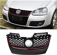 ABS Car Red Strip Front Center Grille Bumper Grill