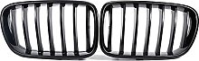ABS Gloss Black Sport Kidney Grille Grill ,for