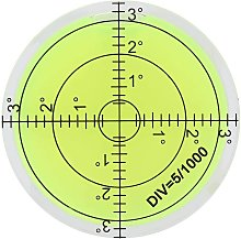 ABS Plastic Diameter 60mm Spirit Bubble Level