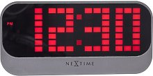 ABS Tabletop Clock NeXtime Finish: Red