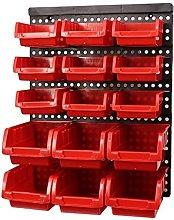 ABS Wall-Mounted Storage box Tool Parts Garage