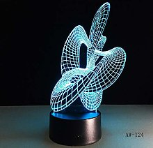 Abstract 3D Table Lamp Dance Colorful Table Lamp