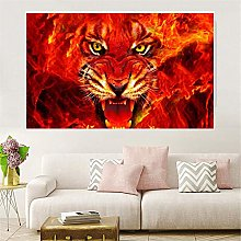Abstract art Poster Canvas painting print Wall Art