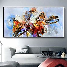 Abstract Colorful Canvas Painting print Wall Art