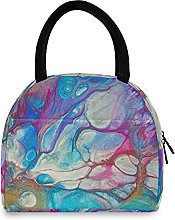 Abstract Colorful Lunch Bag Cooler Bag Insulated