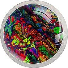 Abstract Colorful, Modern Minimalist Printing