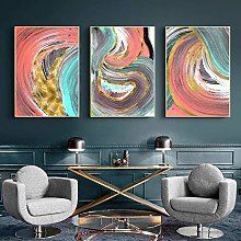 Abstract Colorful Painting Pictures Modern Canvas