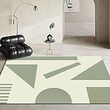 Abstract Geometric Modern Style Carpet Non-Slip