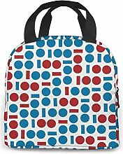 Abstract Geometric Pattern Neoprene Lunch