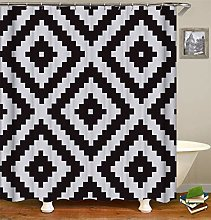 Abstract Geometric Pattern. White And Black