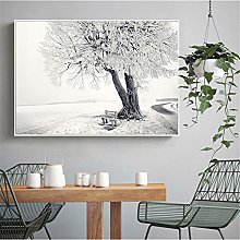 Abstract Oil Painting Wall Canvas for Bedroom