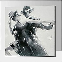 Abstract Painting on Canvas Wall Art for Living