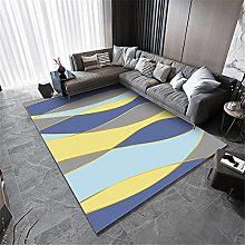 Abstract Rug Childrens Rugs For Playroom Blue
