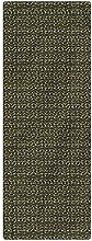 Abstract Runner Rug, 2'x3', Wave Design