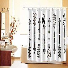Abstract Shower Curtain British Tartan Pattern