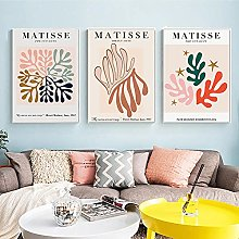 Abstract Wall Art Canvas Painting Matisse Colorful