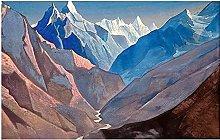 abstract wall art Canvas Wall Art Nicholas Roerich