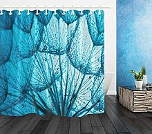 Abstract Water Dandelion Flowers Waterproof Fabric