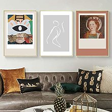 Abstract Women Canvas Painting print Figure Body