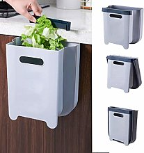 ABTSICA Hanging Trash Can Folded for Kitchen