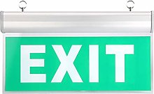 AC110-240V LED Exit Sign, Exit Lighting Sign, for