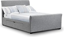 Acamar Upholstered Bed Frame Wrought Studio