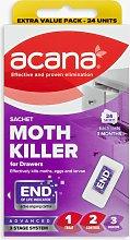 Acana Sachet Moth Killer and Drawer Freshener,
