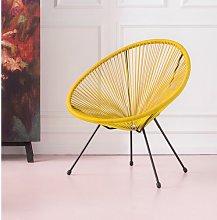 Acapulco Lounge Chair KARE Design Colour: Yellow