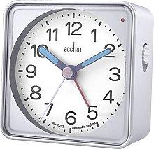 Acctim 15457 Adina Silver Alarm Clock with Ligh