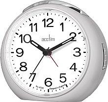 Acctim 15557 Abella Bell Alarm Clock in Silver