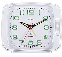 Acctim 15702 Ada Alarm Clock with Snooze in White