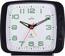 Acctim 15703 Ada Alarm Clock with Snooze in Black
